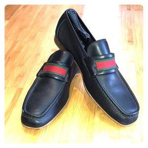 Men's Gucci loafer black size 10